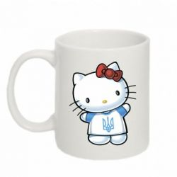 Кружка 320ml Hello Kitty UA - FatLine