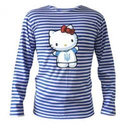 Тельняшка с длинным рукавом Hello Kitty UA - FatLine