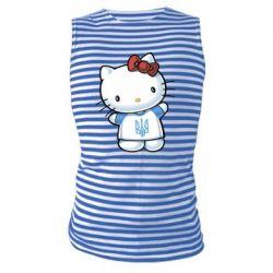 Майка-тельняшка Hello Kitty UA - FatLine