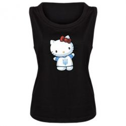 Женская майка Hello Kitty UA - FatLine