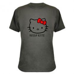 Камуфляжная футболка Hello Kitty