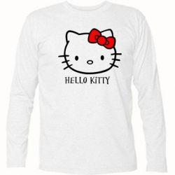 Футболка с длинным рукавом Hello Kitty