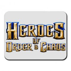 Коврик для мыши Heroes of Order & Chaos - FatLine