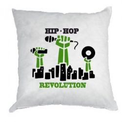 Подушка Hip-hop revolution - FatLine