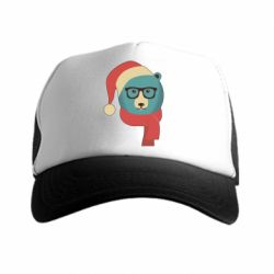 �����-������ Hipster Christmas Bear - FatLine