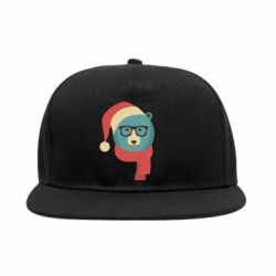 Снепбек Hipster Christmas Bear - FatLine