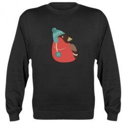 Реглан Hipster Christmas Bird - FatLine