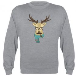 Реглан Hipster Christmas Deer - FatLine
