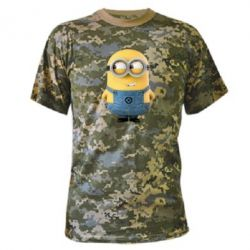 Камуфляжная футболка Хитрый миньон - FatLine