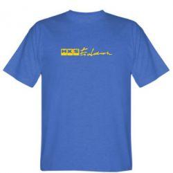 Мужская футболка HKS logo - FatLine