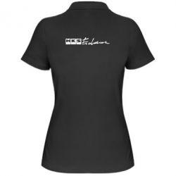 Женская футболка поло HKS logo - FatLine