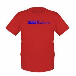 Детская футболка HKS logo - FatLine