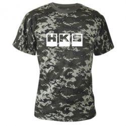 Камуфляжная футболка HKS - FatLine
