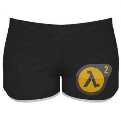 Женские шорты HL 2 logo - FatLine