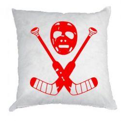 Подушка Хоккейная маска - FatLine