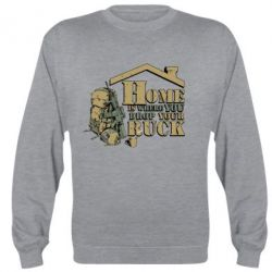 ������ Home is where you drop your ruck