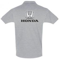Футболка Поло Honda 3D Logo - FatLine