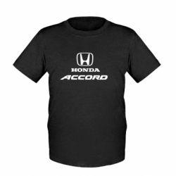 Детская футболка Honda Accord - FatLine