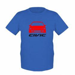 Детская футболка Honda Civic - FatLine