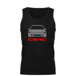 Мужская майка Honda Civic - FatLine