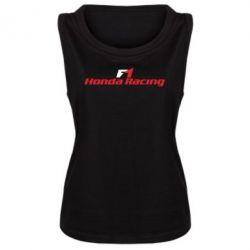 Женская майка Honda F1 Racing - FatLine