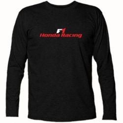 Футболка с длинным рукавом Honda F1 Racing - FatLine