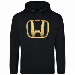 Мужская толстовка Honda Gold Logo - FatLine