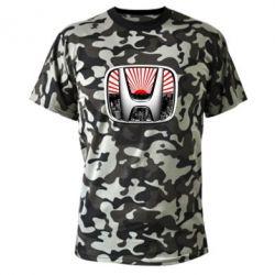 Камуфляжная футболка Honda JDM - FatLine