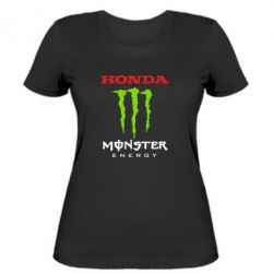 Женская футболка Honda Monster Energy