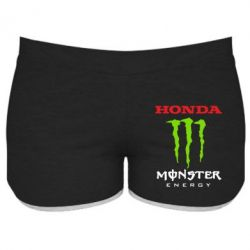 Женские шорты Honda Monster Energy - FatLine