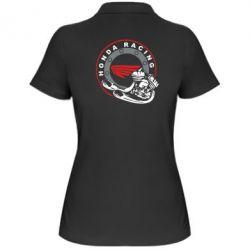 Женская футболка поло Honda Racing - FatLine