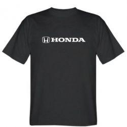 Мужская футболка Honda Small Logo - FatLine