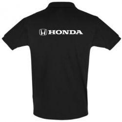 Футболка Поло Honda Small Logo - FatLine