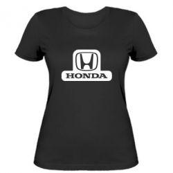 Женская футболка Honda Stik - FatLine