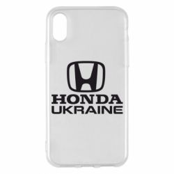 Мужская футболка  с V-образным вырезом Honda Ukraine - FatLine