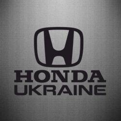Наклейка Honda Ukraine - FatLine