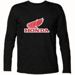 Футболка с длинным рукавом Honda Vintage Logo - FatLine