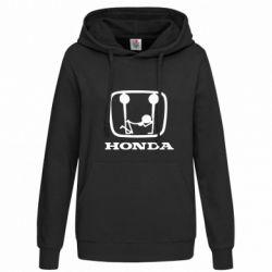 Женская толстовка Honda - FatLine