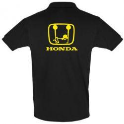 Футболка Поло Honda - FatLine