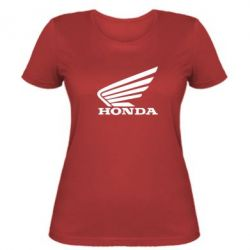 Жіноча футболка Honda - FatLine