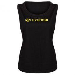 Женская майка Hyundai 2 - FatLine