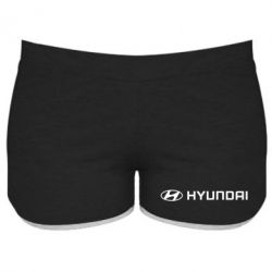 Женские шорты Hyundai 2 - FatLine