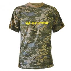 Камуфляжная футболка Hyundai 2 - FatLine