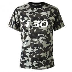 Камуфляжная футболка HYUNDAI i30 - FatLine