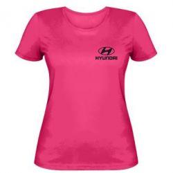 Женская футболка Hyundai Small - FatLine