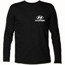 Футболка с длинным рукавом Hyundai Small - FatLine