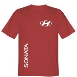 Мужская футболка Hyundai Sonata - FatLine