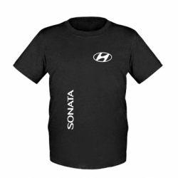 Детская футболка Hyundai Sonata - FatLine