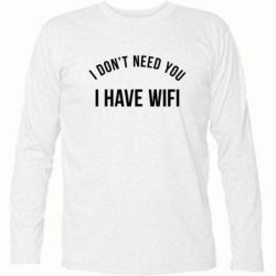 �������� � ������� ������� I don't need you, i have wifi - FatLine