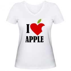 ������� �������� � V-�������� ������� I love APPLE - FatLine